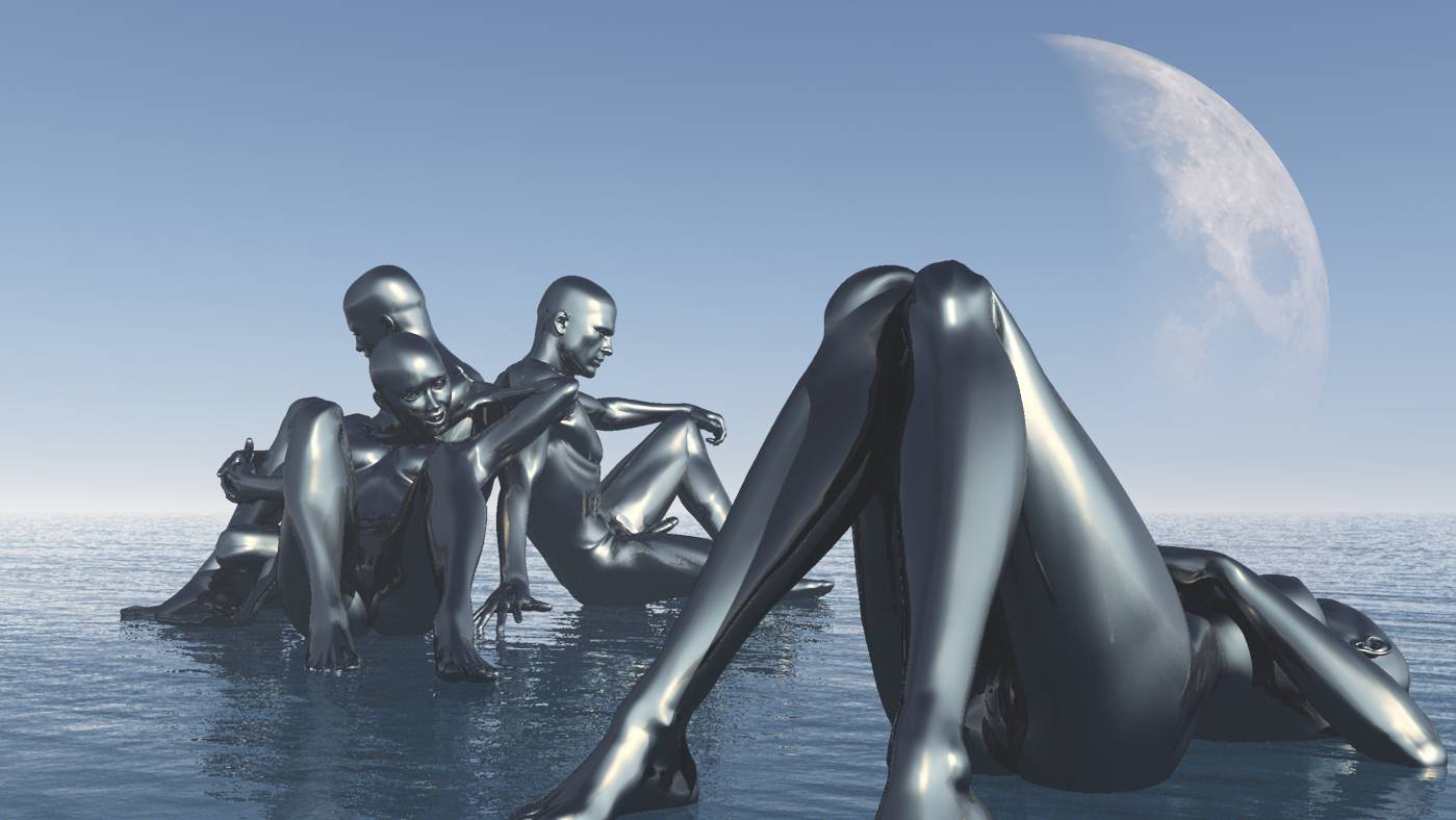 3D Kunst, Human Metal, Stefan Hallerbach