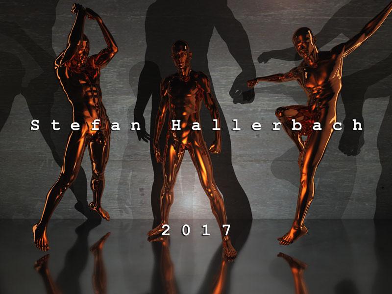 Human Metal, 2017, 3D ART von Stefan Hallerbach