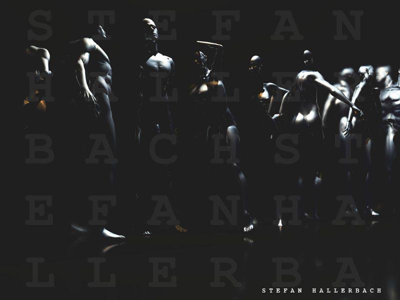 men in the darkness, Stefan Hallerbach