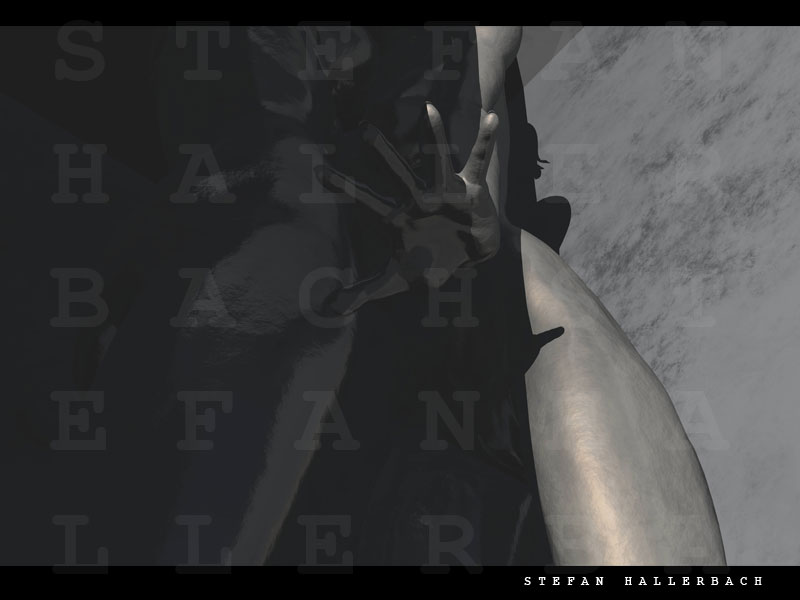 Human Metal, 3D ART, Stefan Hallerbach
