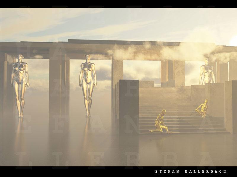 Tempel der Weiblichkeiten 2, Stefan Hallerbach