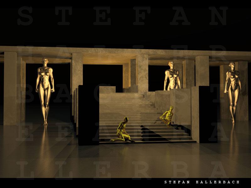 Tempel der Weiblichkeiten, Stefan Hallerbach