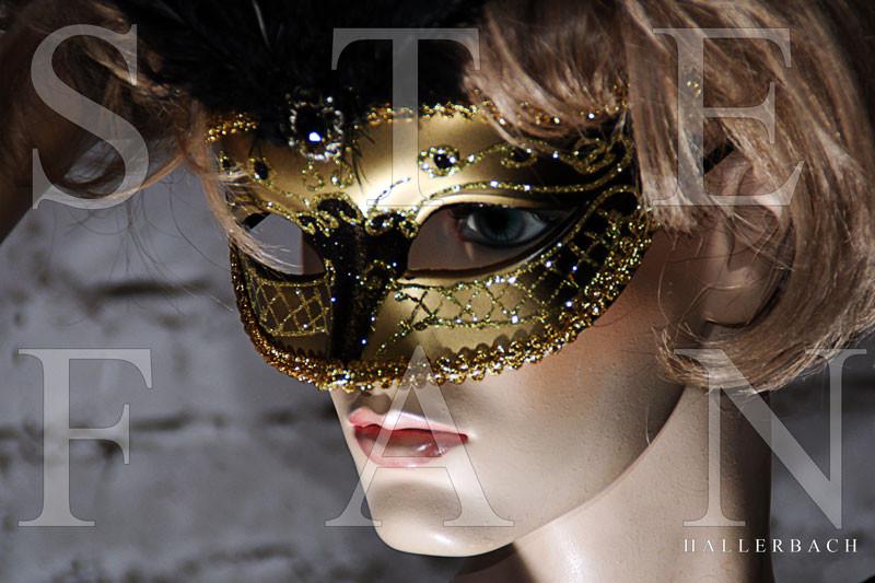 Maske, Fotografie Stefan Hallerbach