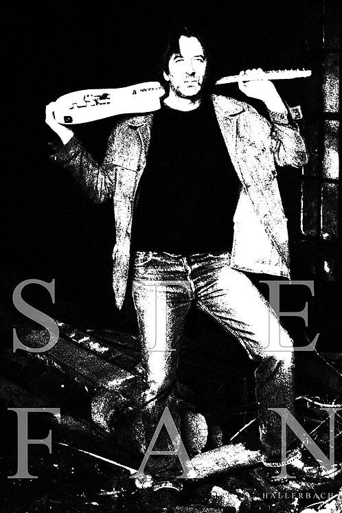 Steve, Rockgitarrist, Stefan Hallerbach