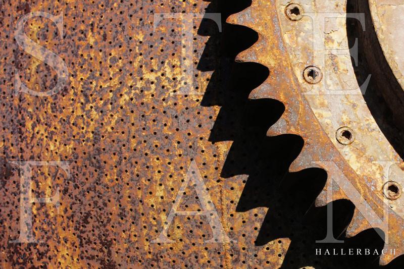 Zahnrad Impression, Fotografie Stefan Hallerbach