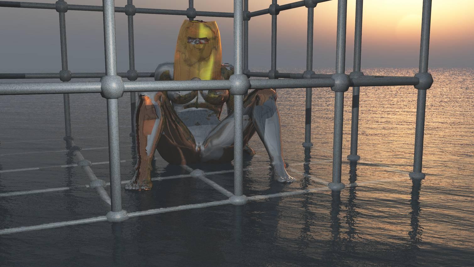 3D Kunst, Human Metal, Stefan Hallerbach, 2017