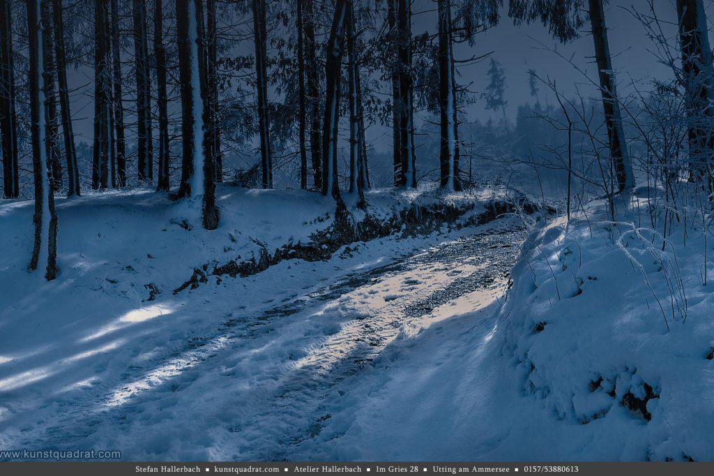 schnee und grusel