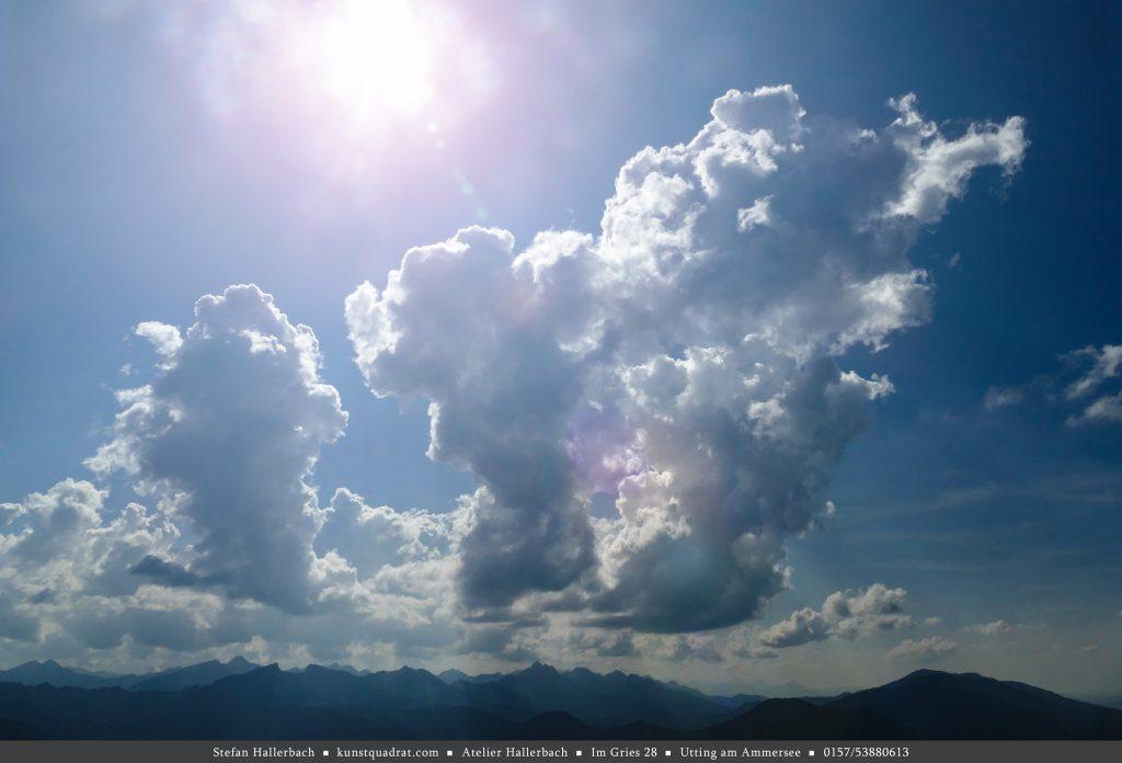 wolken über bayern
